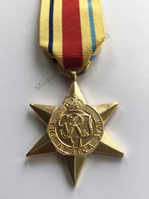 Full Size WW2 Africa Star Replacement Copy